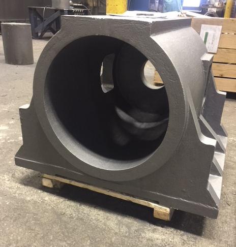 Cast Steel Bearing Housing -Rough Cast