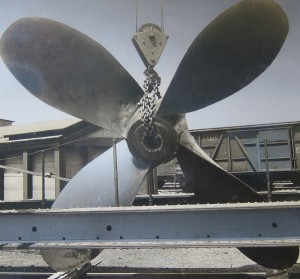 Cast Iron Propeller